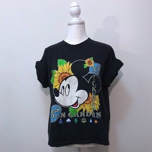 Vintage 90s Disney Mickey Mouse Graphic T-Shirt L